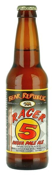 Bear Republic - Racer 5 IPA-Good stuff....too bad they won't be distributing out in the east coast anymore :(