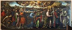 San Zaccaria Leandro Bassano Trasporto del corpo della Vergine al sepolcro - Capelle di Sant'Atanasio