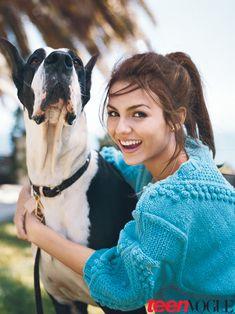Victoria Justice's Teen Vogue Cover Shoot Photos