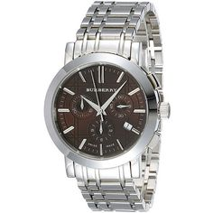 Burberry BU1391 Mens Heritage Chronograph Watch