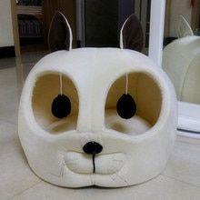Cálido suave gato de Casa de productos para mascotas perro pequeño perro perrera sofá cama gato bolsas de dormir perro mascota conejo nido gato camadas tienda chien