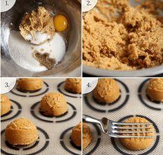 Szuperegyszerű és isteni mogyoróvajas süti - csak 4 hozzávalóból!
