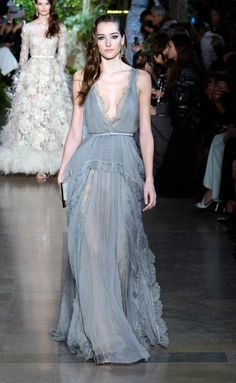 Elie Saab - Haute Couture Primavera-Verano 2015 - www.so-sophisticated.com