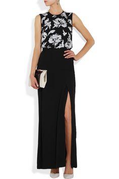 By Malene Birger|Lederam sequined silk-chiffon dress|NET-A-PORTER.COM
