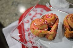 """Turn your basic cinnamon rolls into something special by making them into """"Heart"""" cinnamon rolls. www.darcydiva.com"""