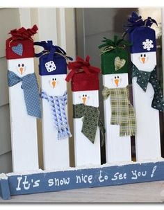 Snow nice to see you  #snowmen #snow #pun snowman front door sign love a good snow pun!
