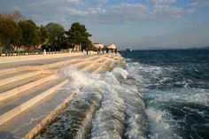 We visited this sea organ on a trip to see a former au pair in Zadar Croatia. Like whales singing - the kids loved it!