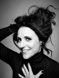 Julia Louis-Dreyfus (1961) - American actress, comedian, and producer. Photo © Art Schreiber