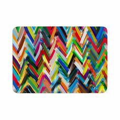 East Urban Home Chevrons by Frederic Levy-Hadida Bath Mat