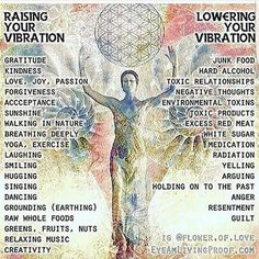 "Raising your ""vibration"""