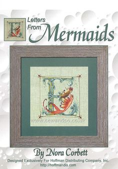 Buy Letters From Mermaids E Chart Online at www.sewandso.co.uk
