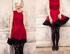 Holly Jolly Christmas! (by Julie Watson) http://lookbook.nu/look/4369042-Holly-Jolly-Christmas