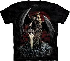 Death Wish Grim Reaper T Shirt Design By the Mountain. Found on our website or check it out on our ebay store for easier check out! http://ebay.to/2t02UfL
