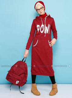 Shop hooded Tunic - Maroon in Tunics category. Modanisa your online muslim modest fashion store. Thousands of items at discounted prices. Start shopping.