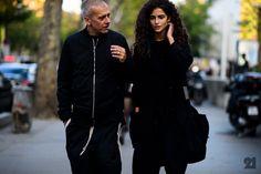 adamkatzsinding:   Claudio Antonioli + Chiara... Fashion Tumblr | Street Wear, & Outfits