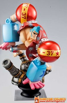 One Piece - Franky - Chess Piece Collection R One Piece Vol.2 - Luke (MegaHouse)