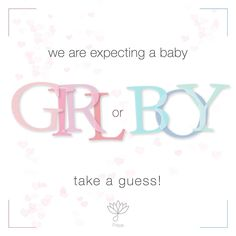we are expecting a baby girl or boy