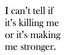 Hopefully Stronger.