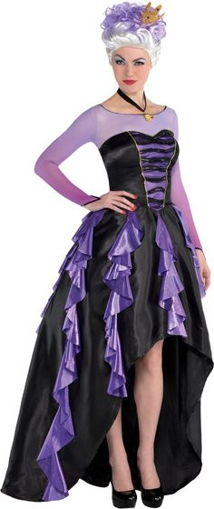 Adult Ursula Costume Couture - The Little Mermaid - Party City