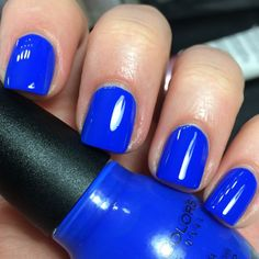 Sinful Colors Endless Blue new favorite nail color