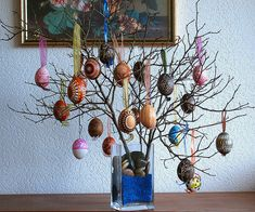 I have an Easter tree with eggs from Germany, Austria and Switzerland but I really like some of these eggs.