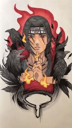 Added Color: ITACHI UCHIHA