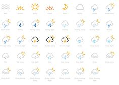 Icons by web font.