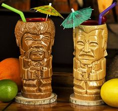 What better way to enjoy a drink with your partner in crime than by sipping them out of these Pulp Fiction tiki mugs? The set includes two Tarantino themed tikis styled like the iconic hitmen duo of Mr. Jules Winnfield and Mr. Pulp Fiction, Thanos Face, Retro Typewriter, Get Gift Cards, Eleven Stranger Things, Support Pillows, Take My Money, Family Game Night, Gadget Gifts