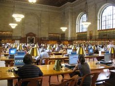 New York Public Library and Thinking about Workspaces