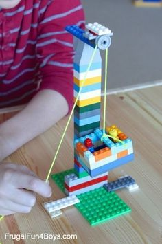 20 simple projects for launching Lego Build . 20 simple projects for launching Lego Builders Lego Duplo, Easy Projects, Projects For Kids, Simple Machine Projects, Wood Projects, Stem Projects, Project Ideas, Legos, Van Lego