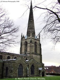 St Mary's Church Hinckley Leicestershire         8 Bells