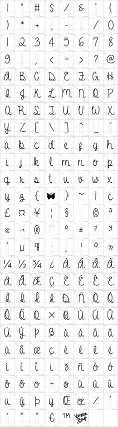 359 Best Fonts images in 2015   Hand lettering, Penmanship