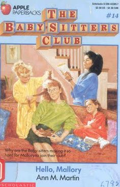 "The Babysitters Club. I literally read every single one of these. And was crushed to learn what a ""ghost writer"" was."