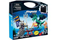 PLAYMOBIL 5609  MALETIN  DRAGONES . NOVEDAD TOTAL 2015 USA.   RECIEN LLEGADO .