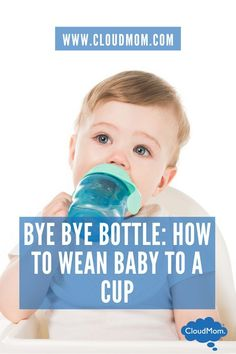 Helpful tips on making the BIG move of weaning your baby from the bottle to the sippy cup!