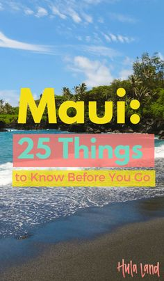 "FacebookTwitterPinterestStumbleUpon   1. Maui is the second youngest of the Hawaiian Islands. It was created by a volcano almost 1.3 million years ago. It's also the second largest of the four main Hawaiian Islands, and has a population of about 144,000 people. 2. It's called the ""Valley Isle"" but it's a nice mix of natural …"