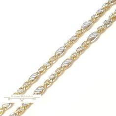 Arany Lánc (méret:46) SG 48756 Chain, Diamond, Bracelets, Jewelry, Fashion, Moda, Jewlery, Jewerly, Fashion Styles