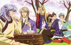 Seiran, Ryuuki, Ryuuren, Ensei, Shuuei and Kouyu