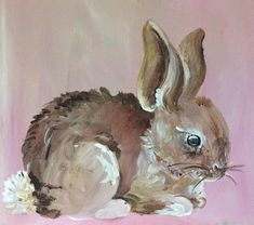 Sweet Little Bunny Painting – Care – Skin care , beauty ideas and skin care tips Easter Paintings, Animal Paintings, Animal Drawings, Art Drawings, Bunny Painting, Painting & Drawing, Arte Inspo, Lapin Art, Art And Illustration
