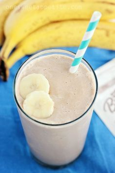 chocolate banana smoothie. Super filling and taste is actually good!