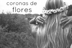 CORONAS DE FLORES -  FLOWERS CROWN