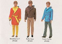 Groovy Outfits for Ken