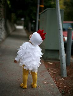 Mini Chicken Costume for Carnival @ Mummy Mag