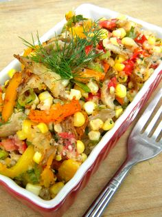 oyster mushroom hash with herb butter raw meal - can't wait to try this one (another pin from addicted to veggies)