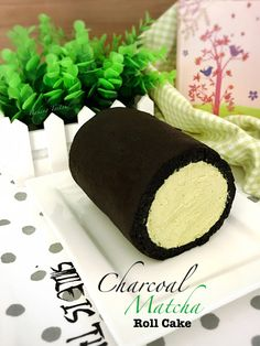 This Charcoal Matcha Chantilly Roll Cake is inspired by my visit to the O'sulloc cafe when I was in Seoul last month. You can click 'HERE...