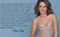 Tina Fey and the success of Sarah Palin