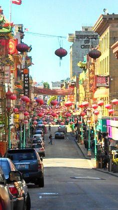 China Town, San Francisco, Ca. 2013