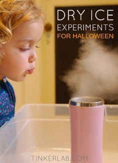 Dry Ice Experiment for Halloween