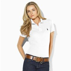 Now, the ralph lauren t-shirt is undoubtedly an crucial and versatile creating prevent for getting a large number of Polo Outfits that work very well for both males and females. polos outfit for teens Polo Outfits For Women, Polo Shirt Women, Clothes For Women, White Polo Outfit Women, Preppy Mode, Preppy Style, My Style, Goth Style, Polo Ralph Lauren