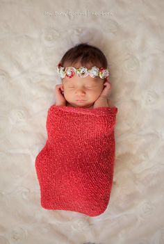 Baby Rose Tieback and Bracelet Set
